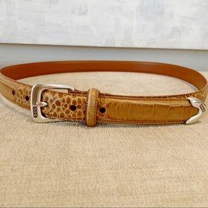 Ralph Lauren Leather Embossed Belt B16